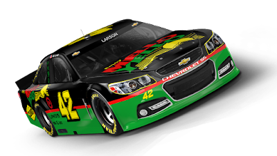 2015 Darlington Paint Scheme Vote Winner #nascar