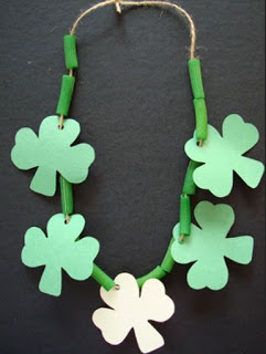 St-Patrick's-day-Green-Flower-Necklace