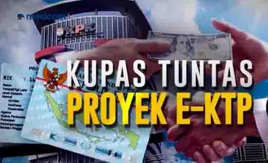 Skandal Proyek e-KTP Disebut Bancakan Tiga Partai, Kuning, Merah dan Biru