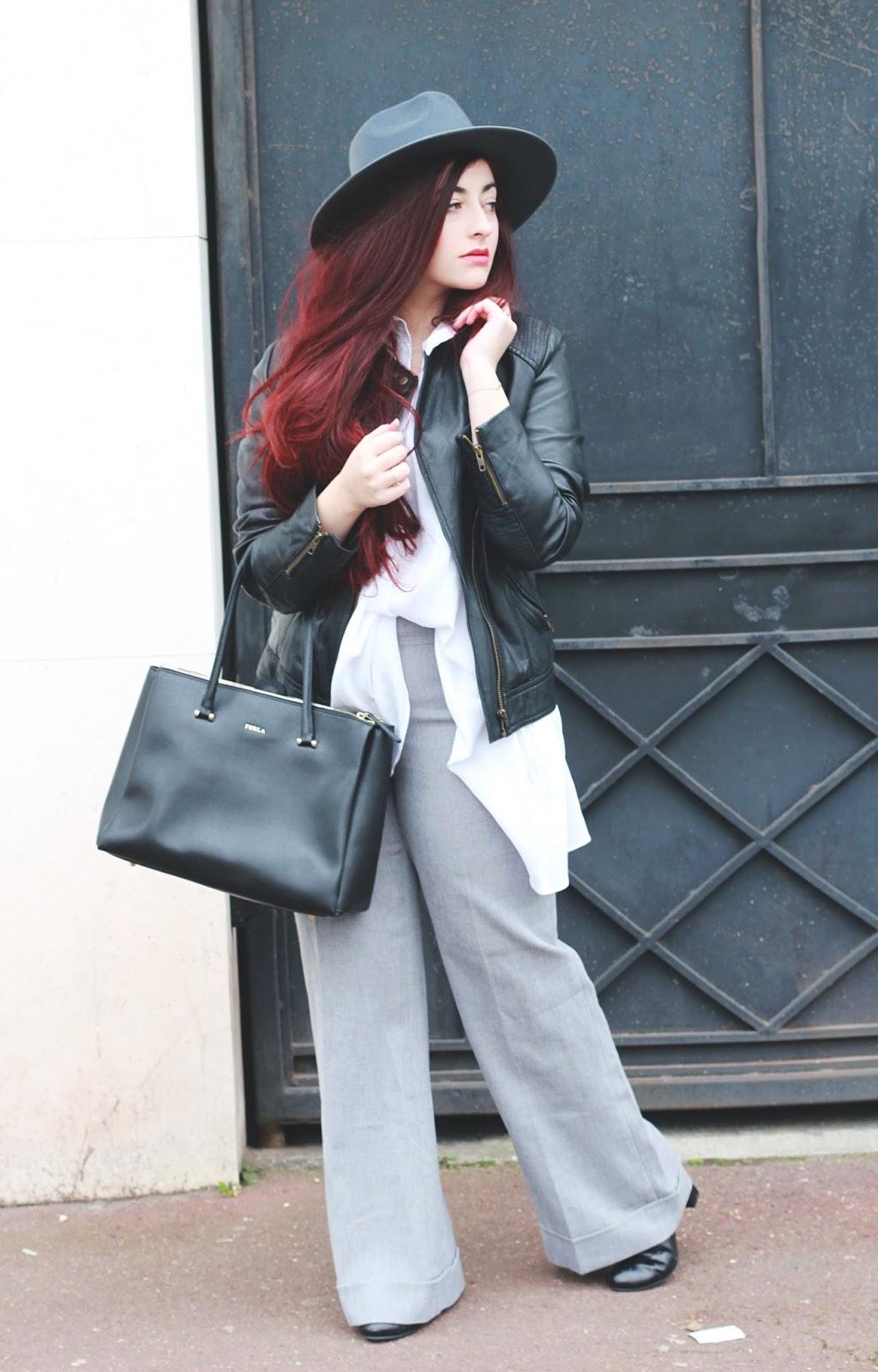 pantalon flare chemise longue