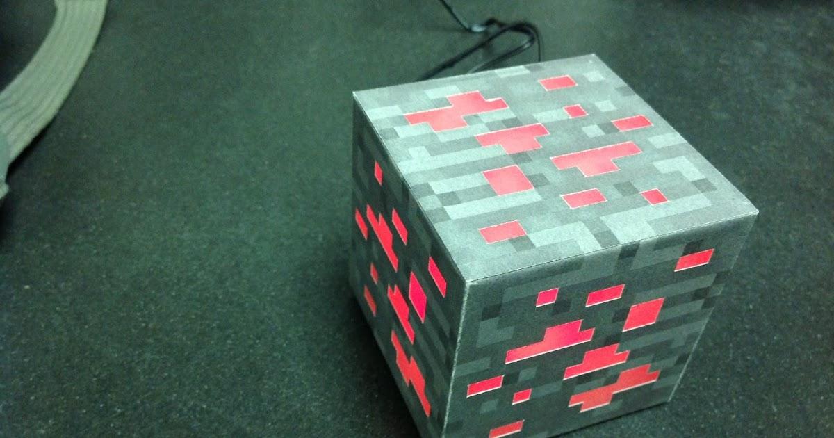 Hardware Hacks Minecraft Ore Block Night Light