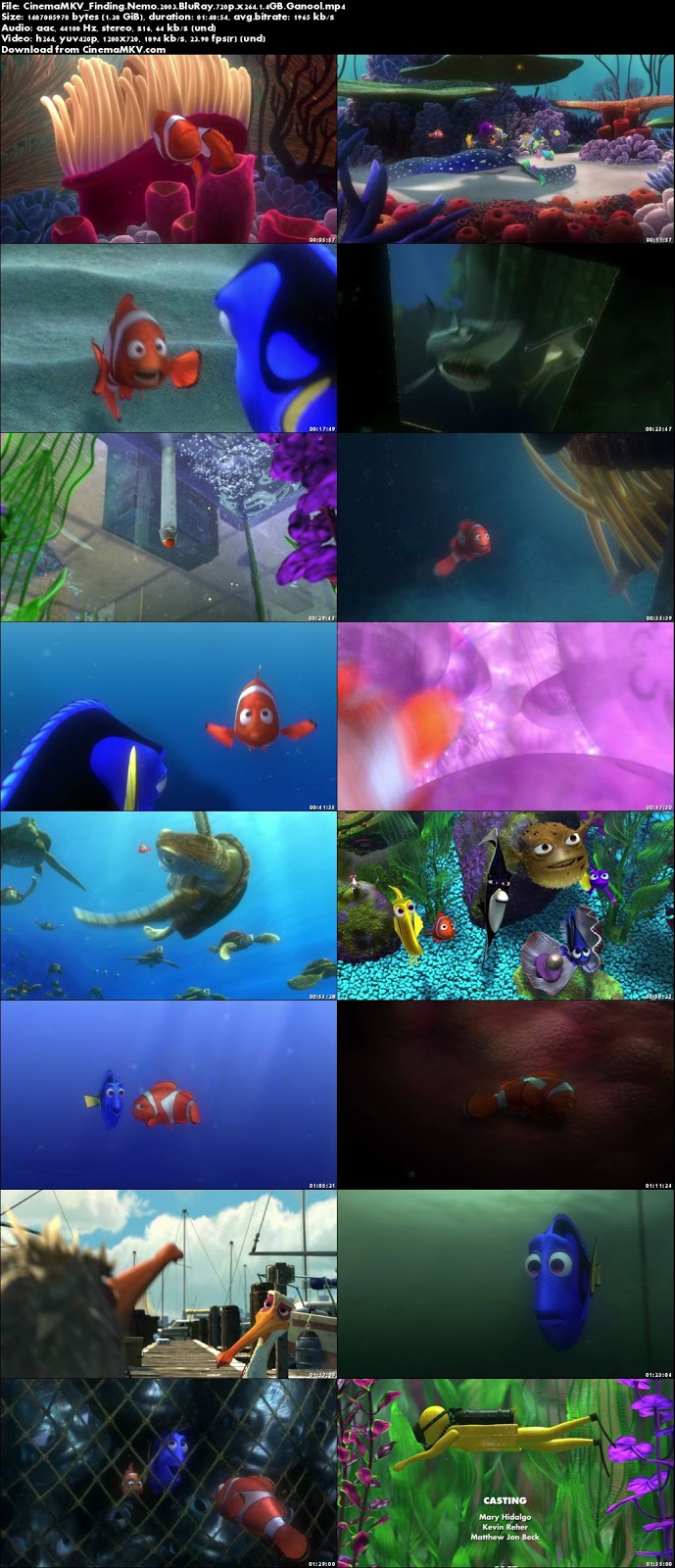 720 Credit Score >> Finding Nemo (2003) - CinemaMKV (Official) | Google Drive ...
