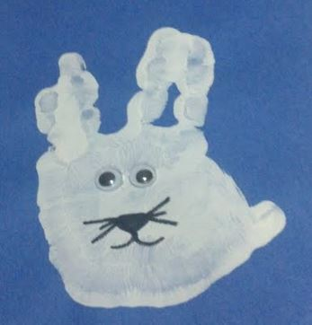 Fern Smith's Easter Bunny for Today's Quick and Easy Art Project! Directions and Pictures for the Elementary Classroom!
