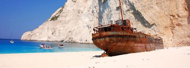 Praia de Navagio - Grécia