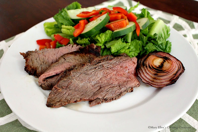 Tequila Lime Marinated Flank Steak - Grilled Tequila Lime Flank Steak