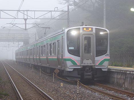 東北本線 黒磯行き4 E721系(2017.10.13廃止)