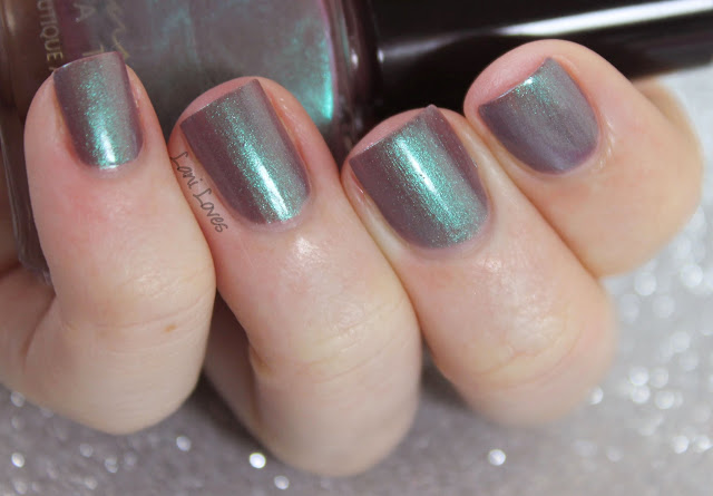 Femme Fatale Cosmetics Hundred Years Winter nail polish swatches & review