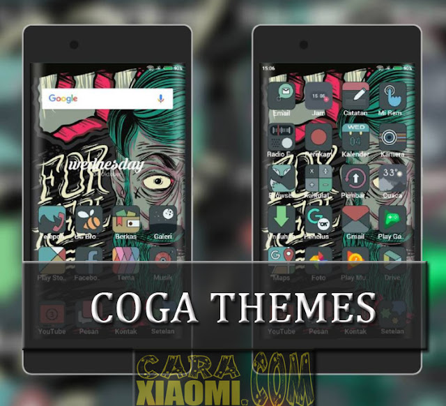 Update Themes MIUI Coga Full Material For Xiaomi