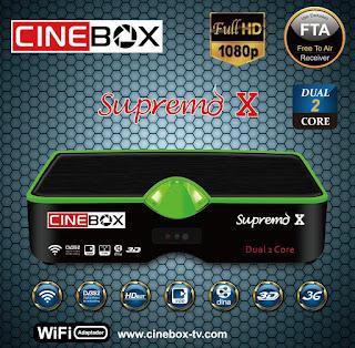 CINEBOX LINHA X DUAL CORE CORREÇÃO 22W ATUALIZAÇÃO Cinebox%2BSupremo%2BX
