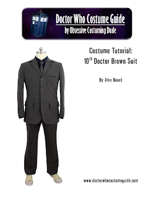 10th Doctor brown suit sewing tutorial