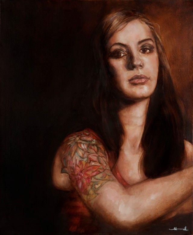 Глаза - это окна. Astrid Garrobo