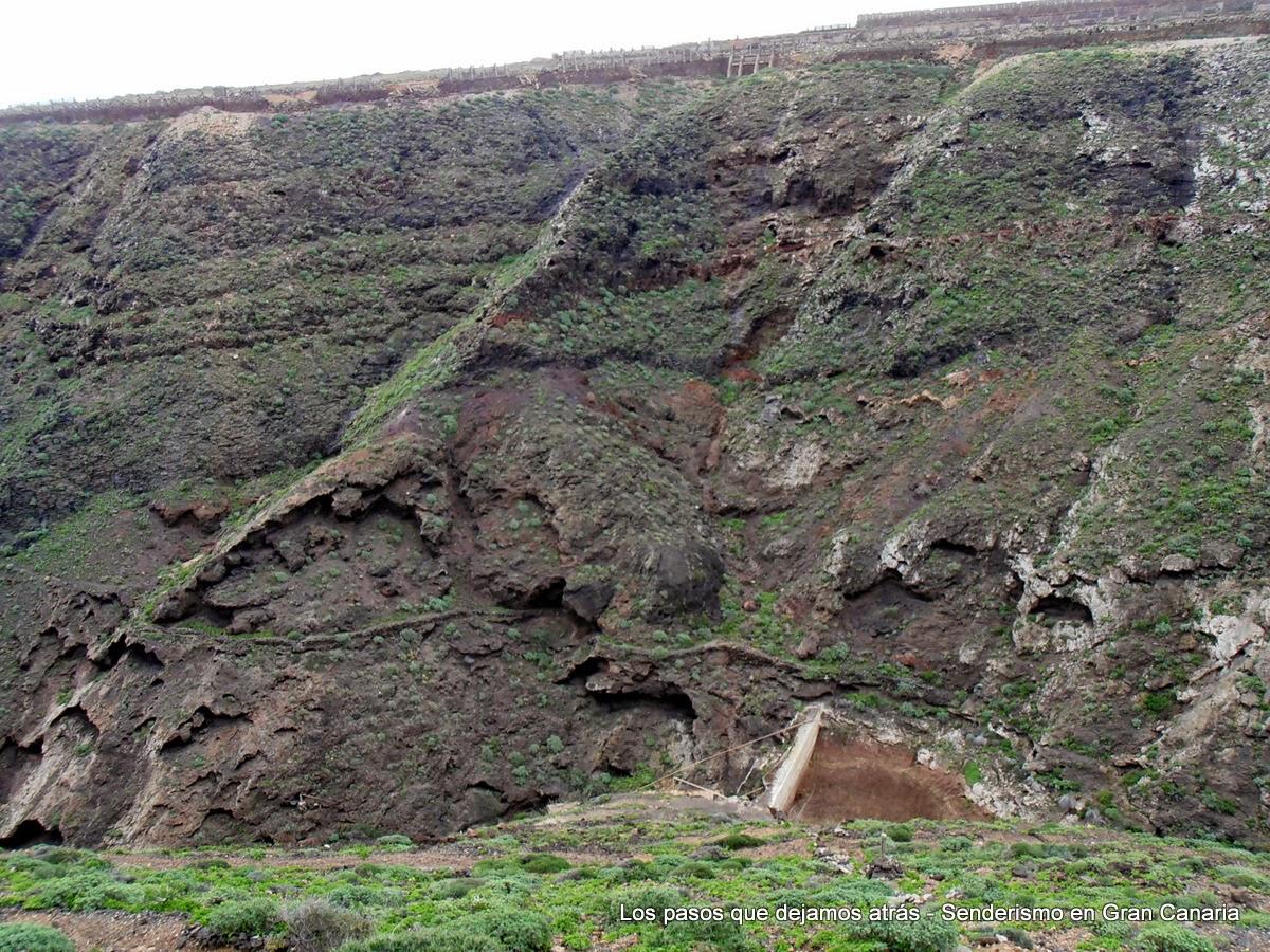Barranco y presa de El Río