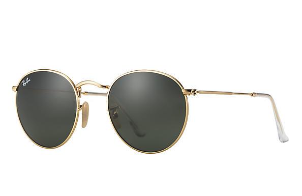 Óculos de sol esportivo Round Metal Clássico