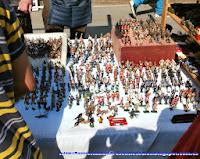 Puesto de soldaditos de plomo en el mercado de Portobello Road