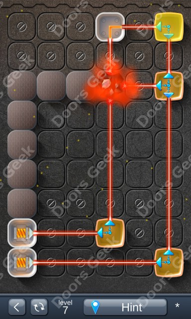 Solution for Laser Box - Puzzle (Basic) Level 7