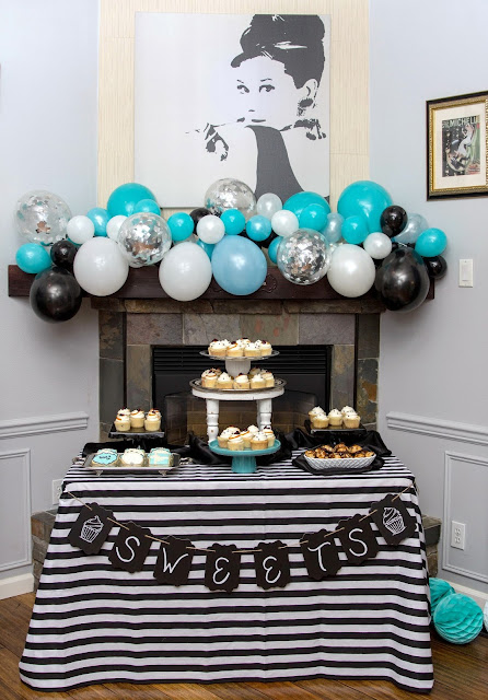 Breakfast at Tiffany's Retirement Party Tacoma Area Party Stylist