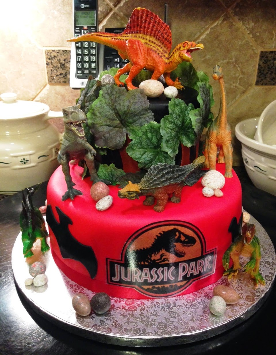 Jurassic Park Cake Ideas Amazon Com Jurassic Park Cake