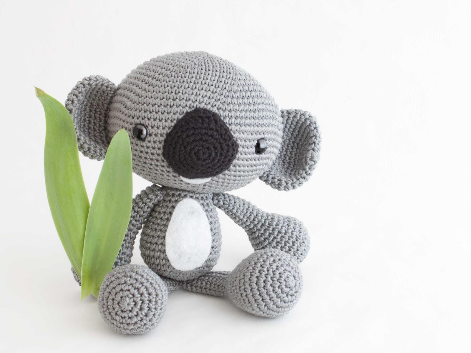 Llavero Koala Amigurumi : Mis PequiCosas: Mika el koala...