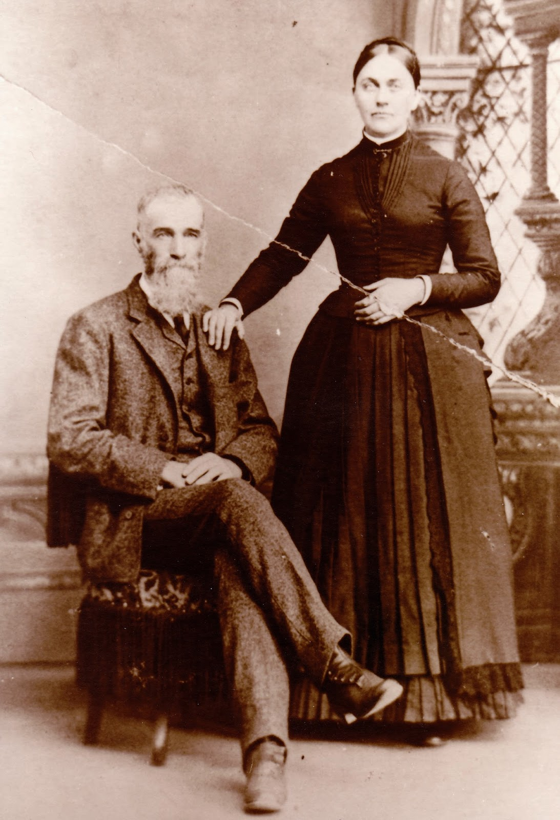 William Wilson Joseph and wife Eliza Jane Spitler, Augusta Co., VA