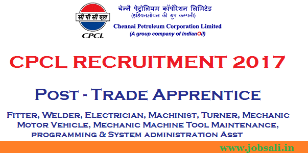 CPCL Careers, cpcl recruitment for freshers, ITI Jobs in Chennai