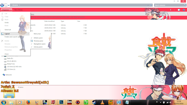 [Theme Win 7] Shokugeki no Shouma by Eldiaz7 4