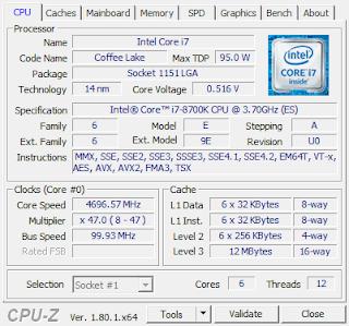 Mengecek jenis Processor Laptop Komputer