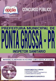download Apostila Concurso Ponta Grossa 2018 PDF