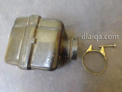 kotak filter udara dan klem