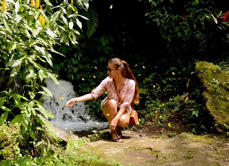 Gitgit twin waterfalls, Bali, Indonesia