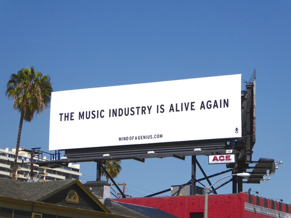 Music industry alive again billboard