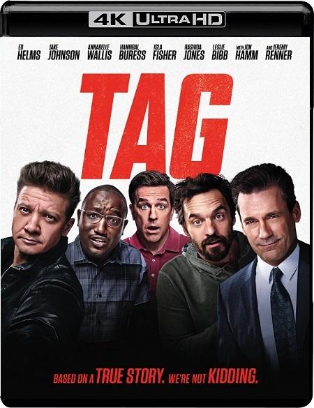Tag 4K (¡Te atrapé! 4K) (2018) 2160p 4K UltraHD HDR WEBRip 15GB mkv Dual Audio DTS-HD 5.1 ch