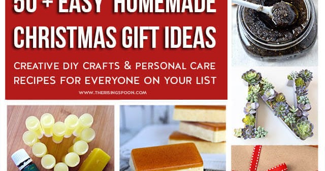50 easy homemade christmas gifts crafts beauty personal care 50 easy homemade christmas gifts crafts beauty personal care the rising spoon solutioingenieria Gallery