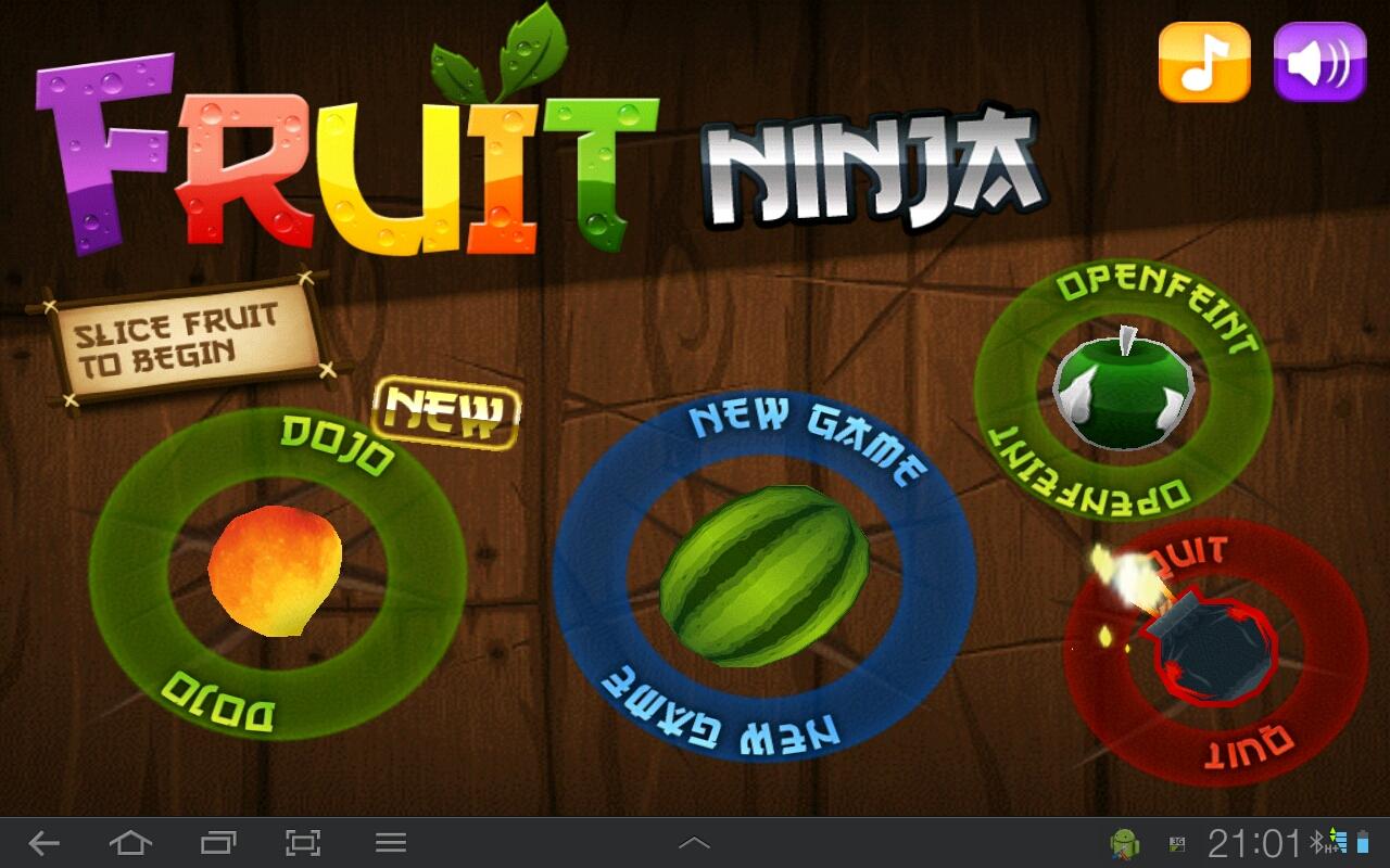 Game Fruit