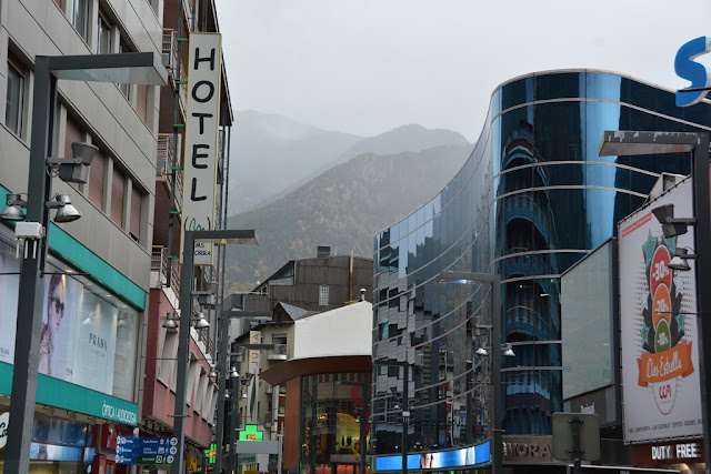 Andorra La Vella shopping