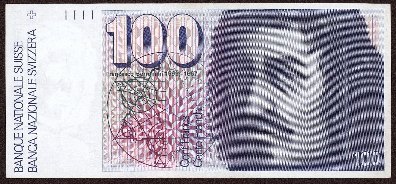 Banknotes of Switzerland 100 Swiss Franc note