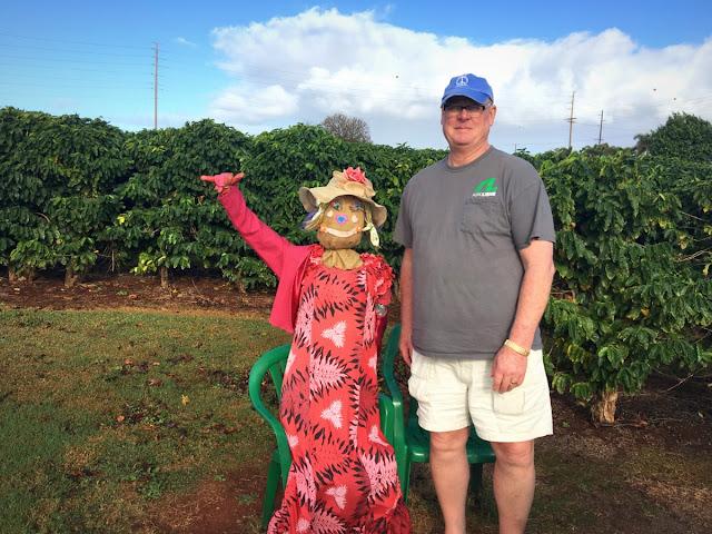Kauai coffee visit