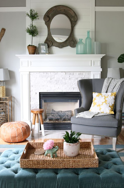 5 quick and easy decorating tips to help you decorate your home.