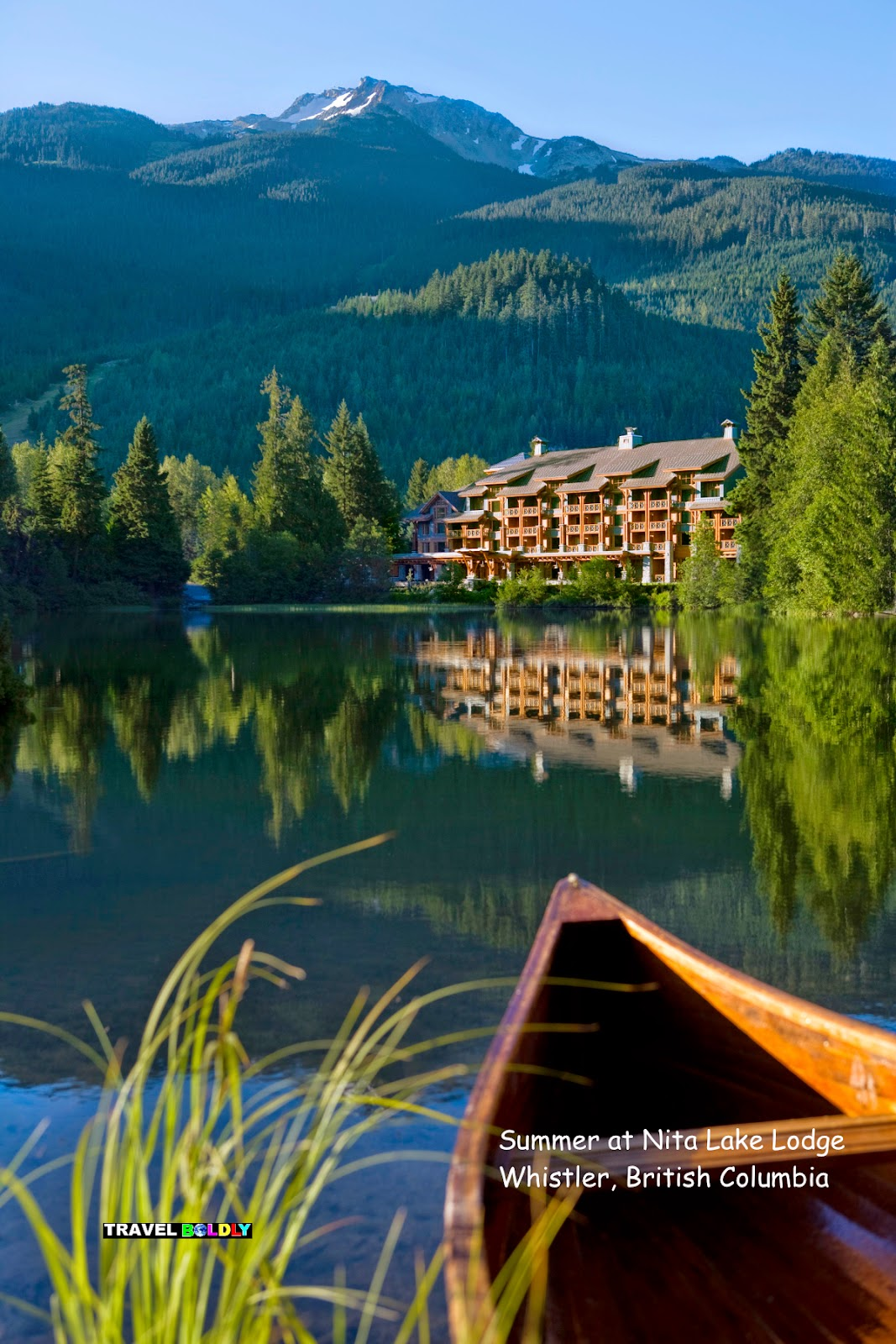 Nita Lake Lodge in summer. Whistler, British Columbia - Travel Boldly