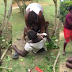 Lady overpowers and tries to rape a man In public (Video)