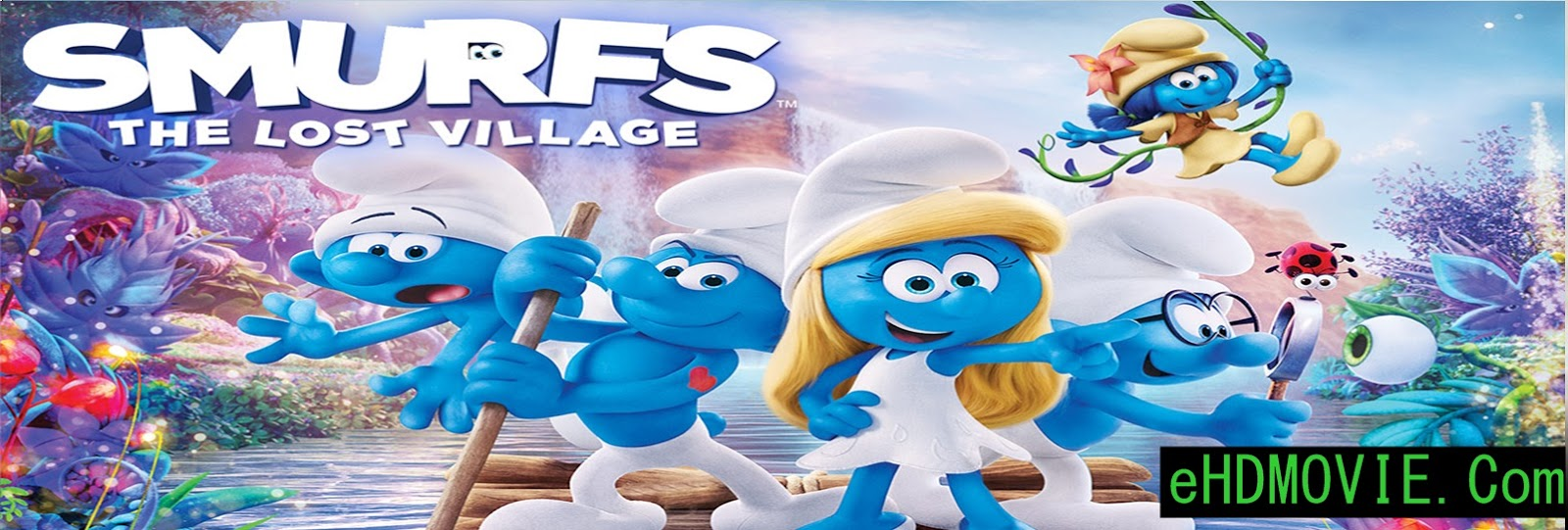 Smurfs: The Lost Village 2017 Full Movie Dual Audio [Hindi – English] 720p - HEVC - 480p ORG BRRip 350MB - 400MB - 900MB ESubs Free Download