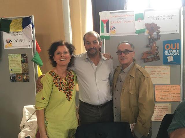Présence marquante de la cause sahraouie au Forum de Paris
