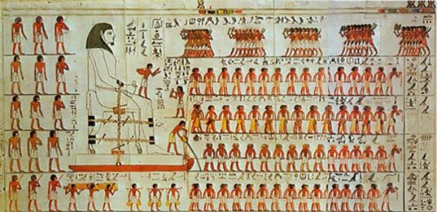 Spostamento di grandi pietre in Egitto: mistero risolto