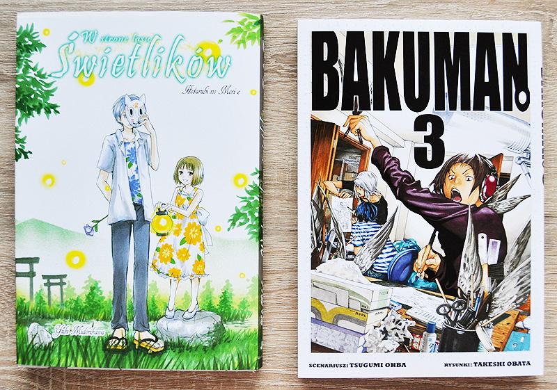 Hotarubi no Mori e Bakuman manga