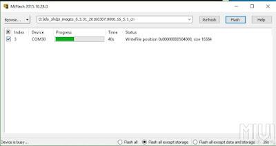 Cara Flash Xiami Redmi 3, Redmi 3 Pro, Redmi 3X Dan Redmi 3S Prime Via Mi Flash