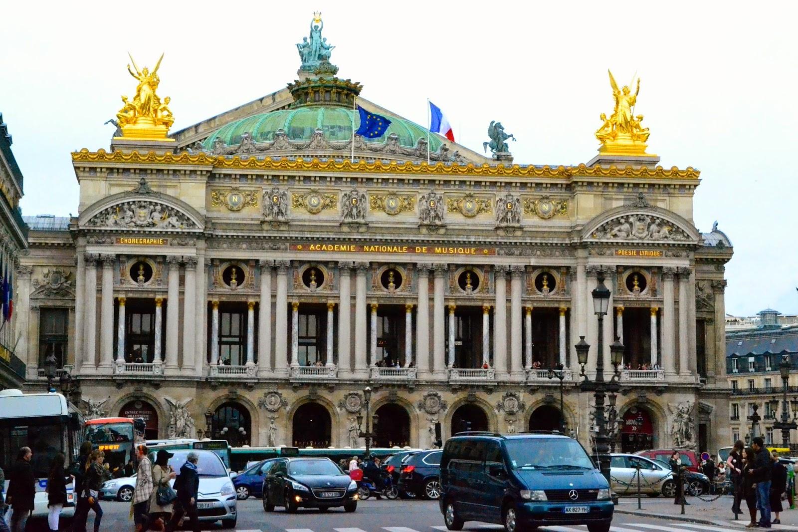 Ópera de París, guia de viaje