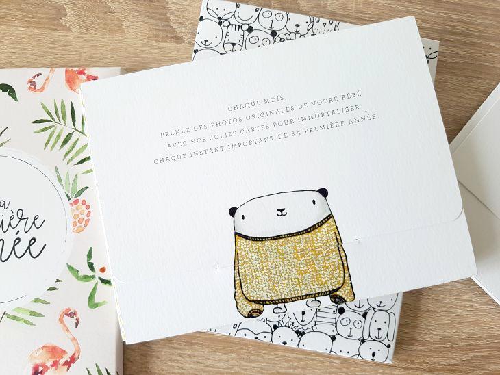 cartes étapes avec un joli design
