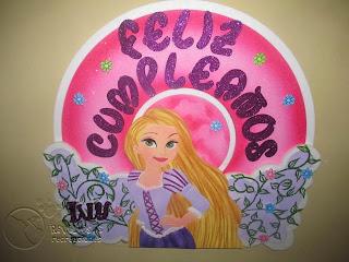 DECORACION ENREDADOS - RASPUNZEL FIESTAS INFANTILES MEDELLIN
