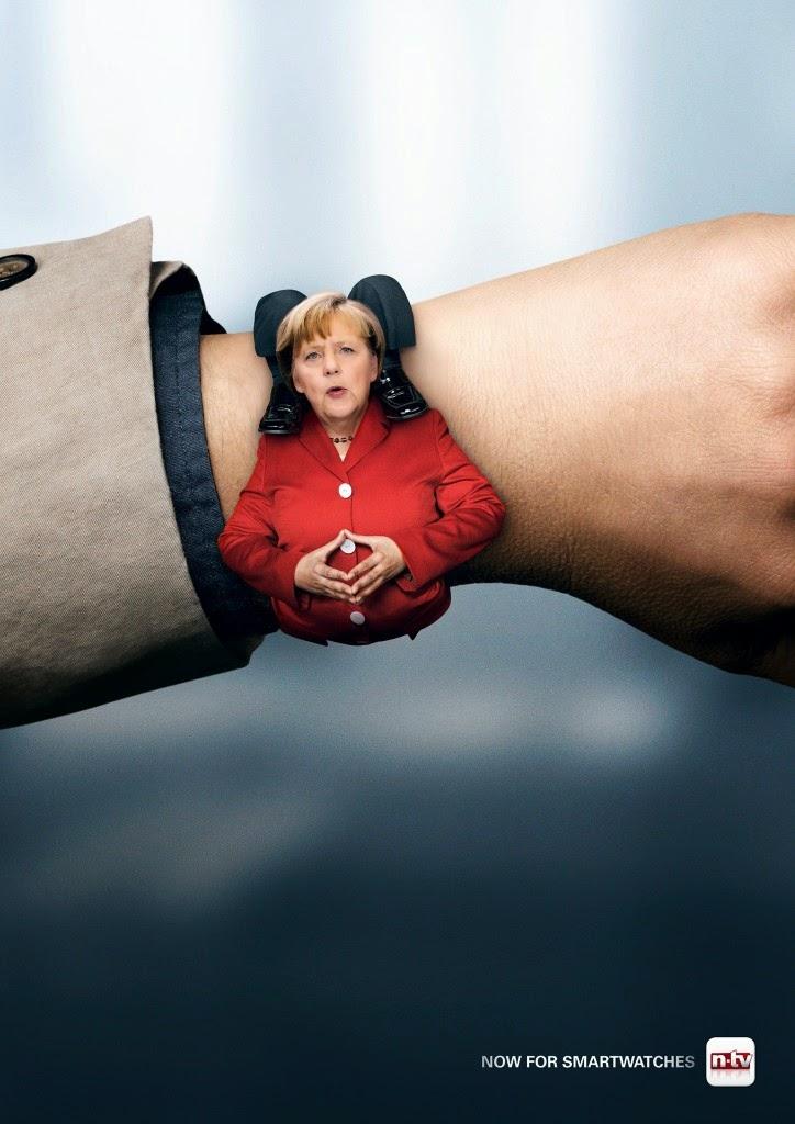 Angela Merkel imagen divertida