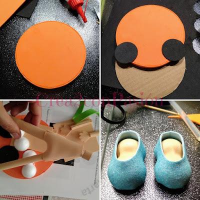 Cenicienta-fofuboli-dos-pies-presentación-Crea2-con-Pasión-primeros-pasos