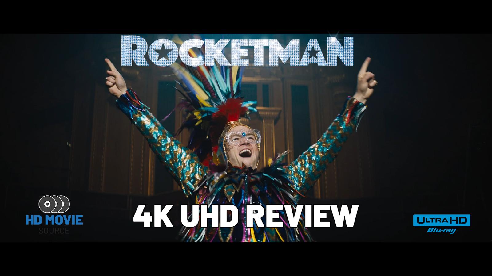 Rocketman 4K (2019) Ultra HD Blu-ray Review: The Basics